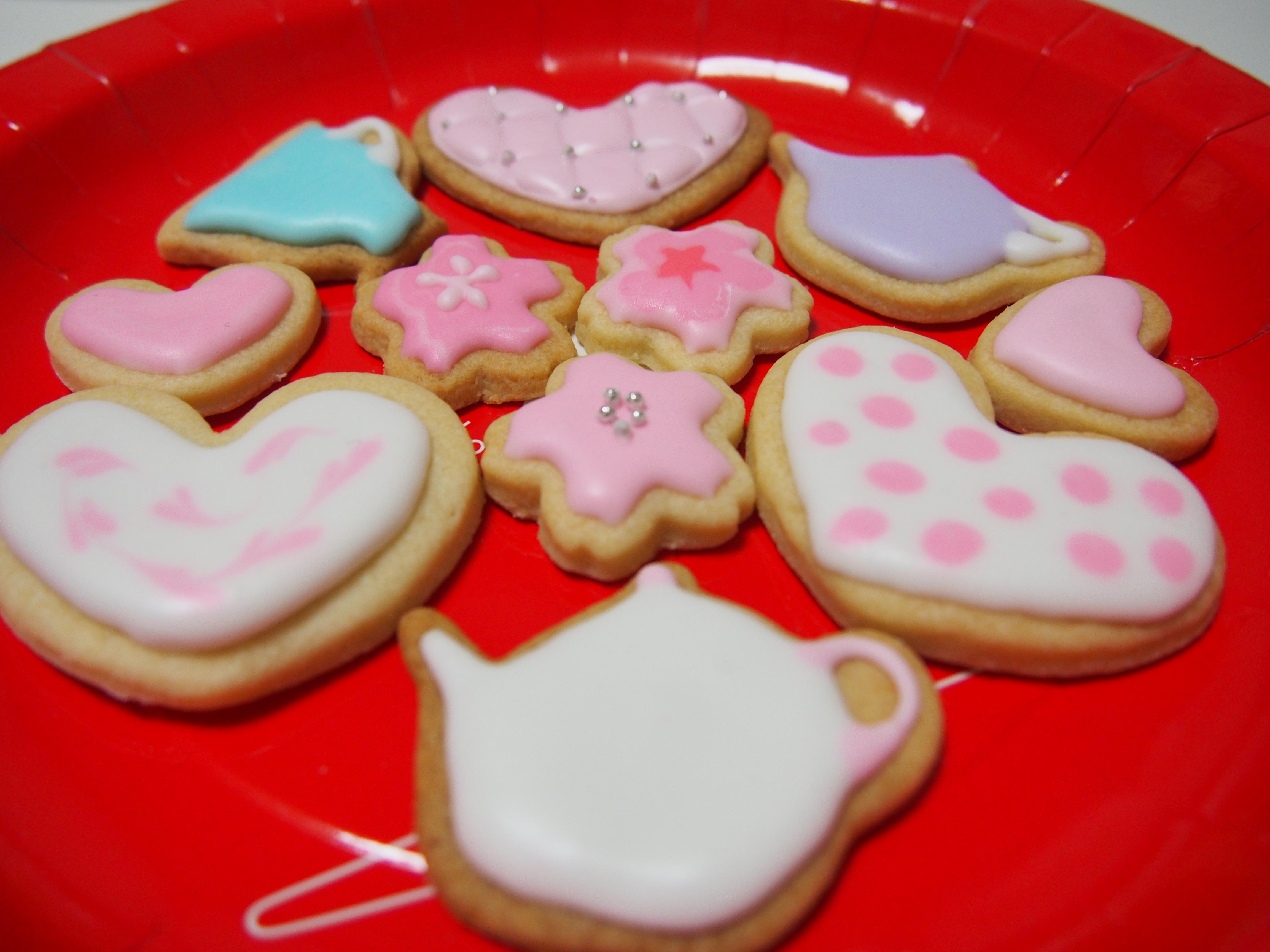 初心者が作るアイシングクッキー 自主練編