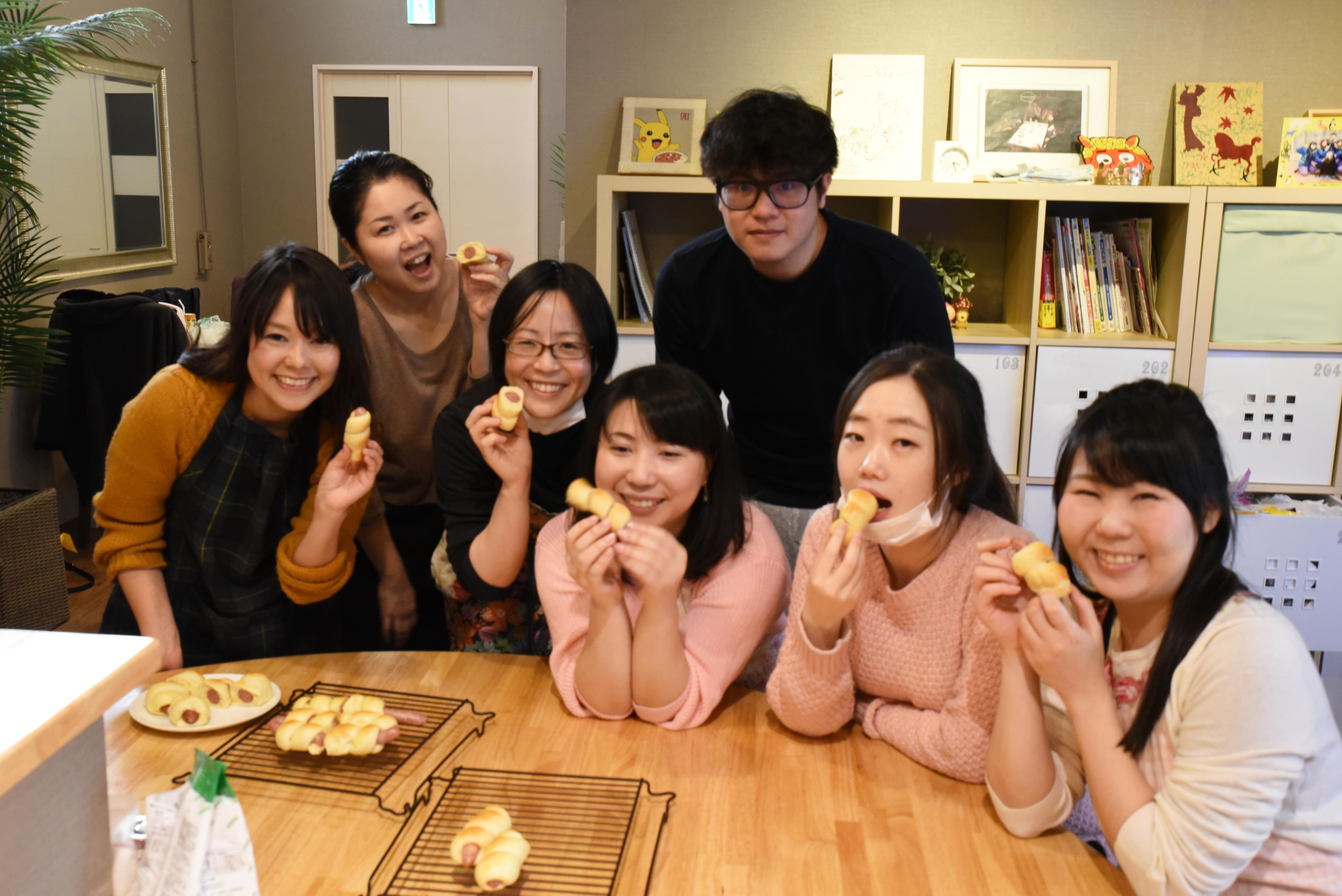 【パン作り④】みんな大好きウィンナーロールとチーズデコレ