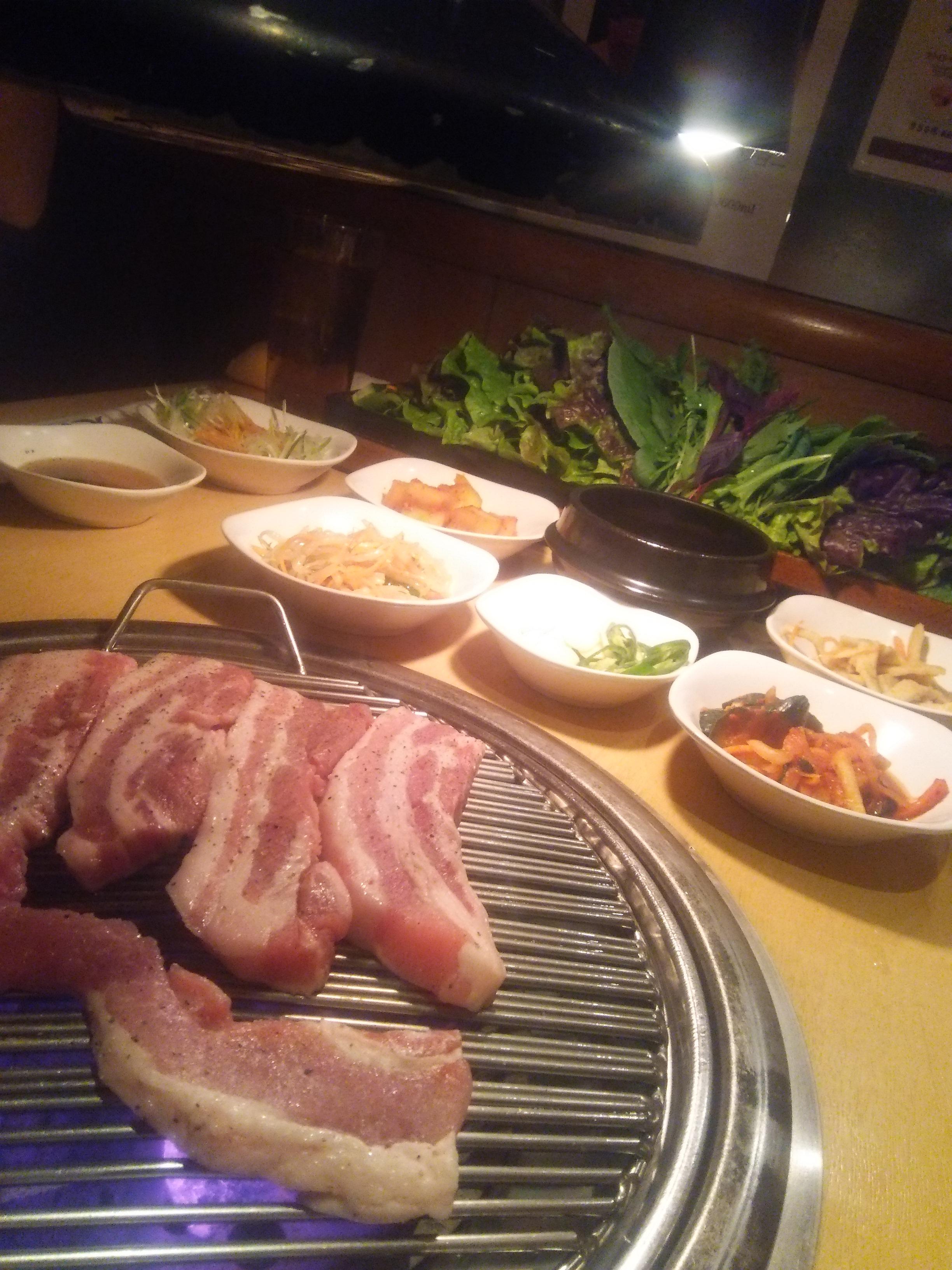 やさい食べ放題!!赤坂でオススメのサムギョプサル