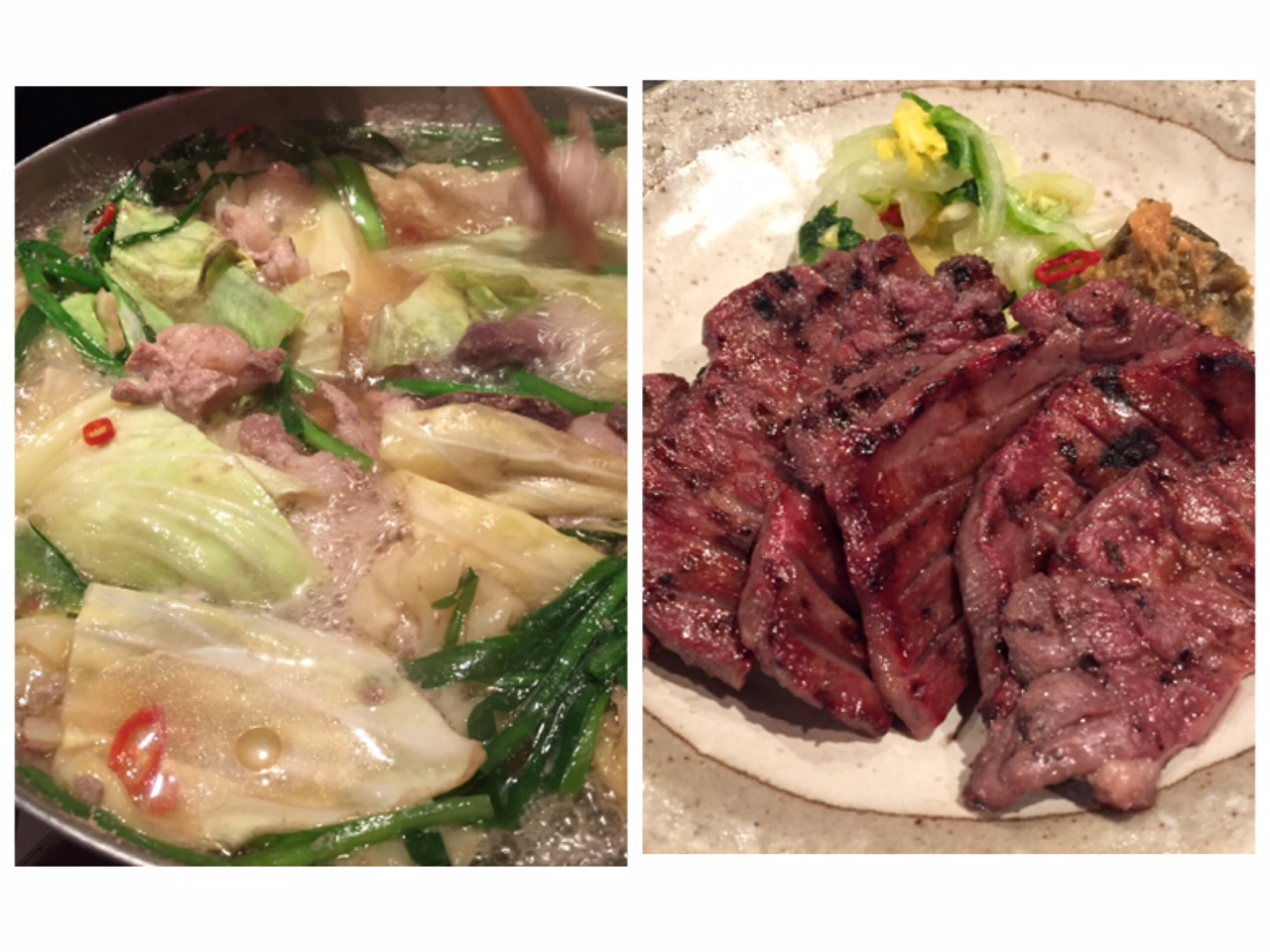 【目黒】仙台名物の牛タン本格派VS牛タン入りもつ鍋!あなたはどっち派?