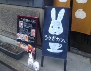 うさぎカフェでほっこり~中崎町エリア~