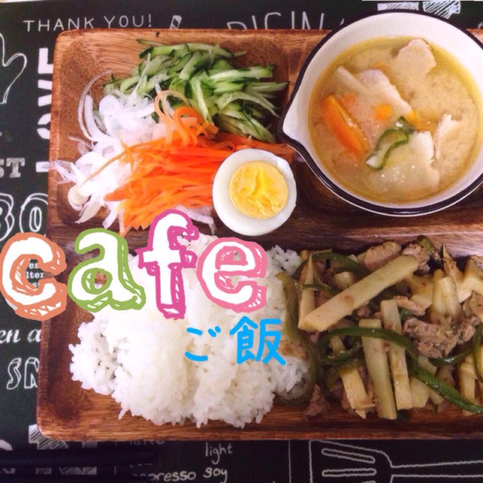 【カフェご飯】ニトリの仕切りプレートで簡単カフェご飯★