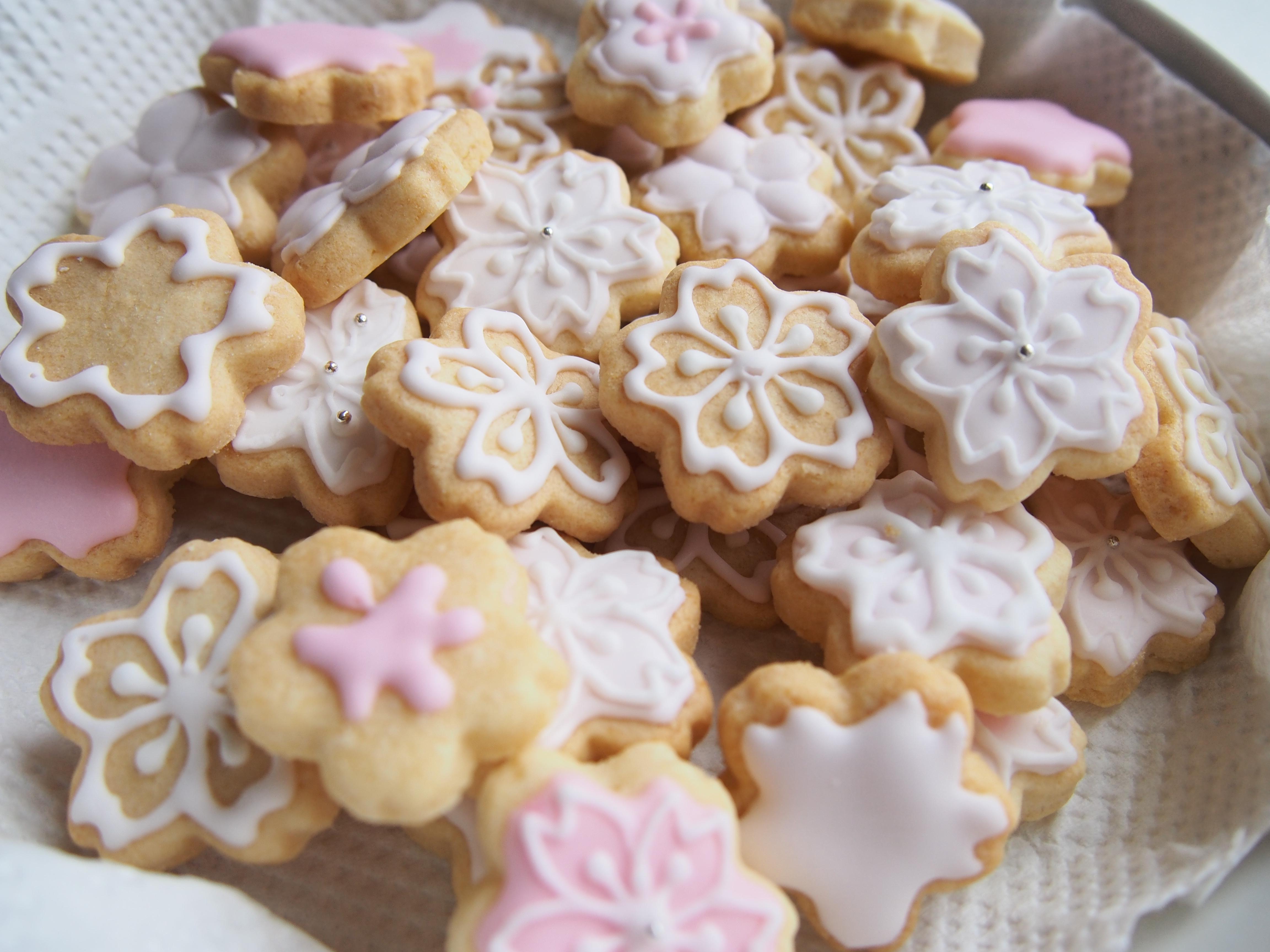 【お花見】差し入れに桜のアイシングクッキー@代々木公園