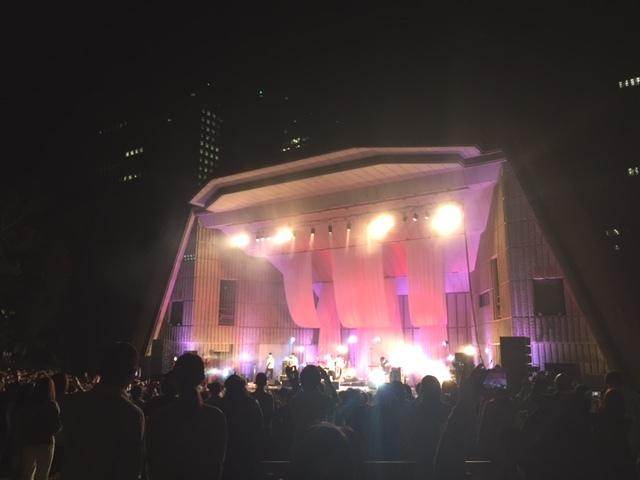 日比谷野外音楽堂「東京カランコロン」ライブ行ってきました♪♪♪