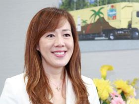トーエル 代表取締役社長兼COO 中田みちさん(51歳)
