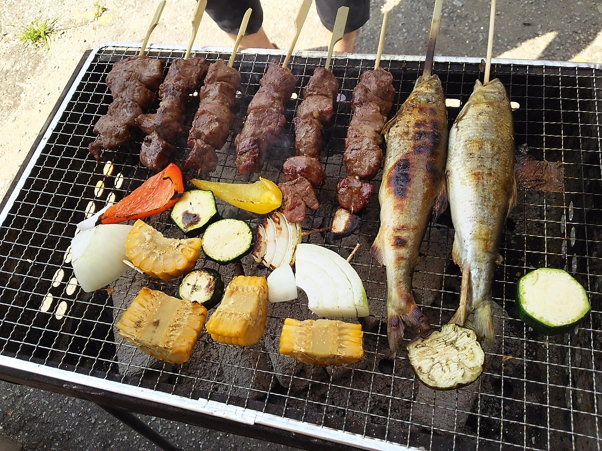 【アウトドア】お肉もいいけど、たまには『海鮮BBQ』