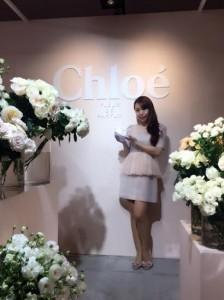 CHLOE新作フレグランス発表会に♡