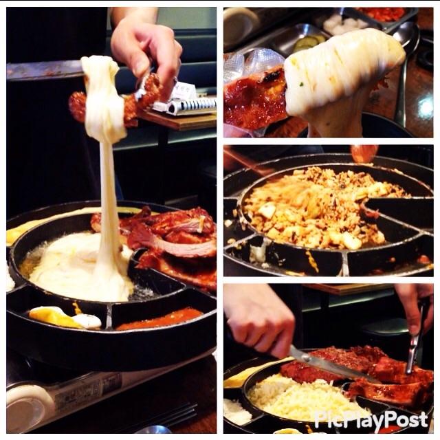 【韓国グルメ旅③】肉&チーズのコラボ inジェイムスチーズトゥンカルビ