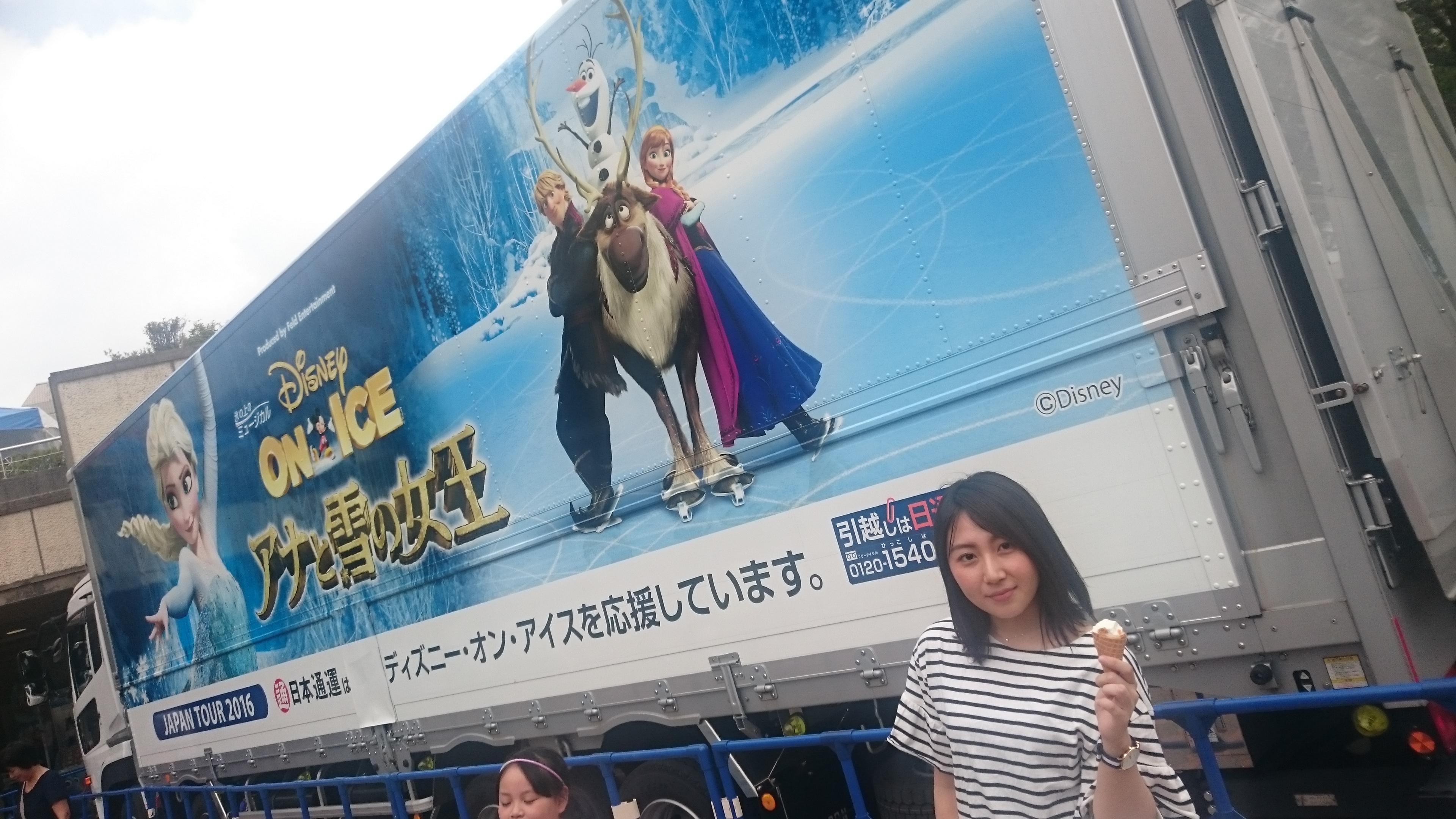 ディズニー好き必見‼Disney on ice( ´∀`)