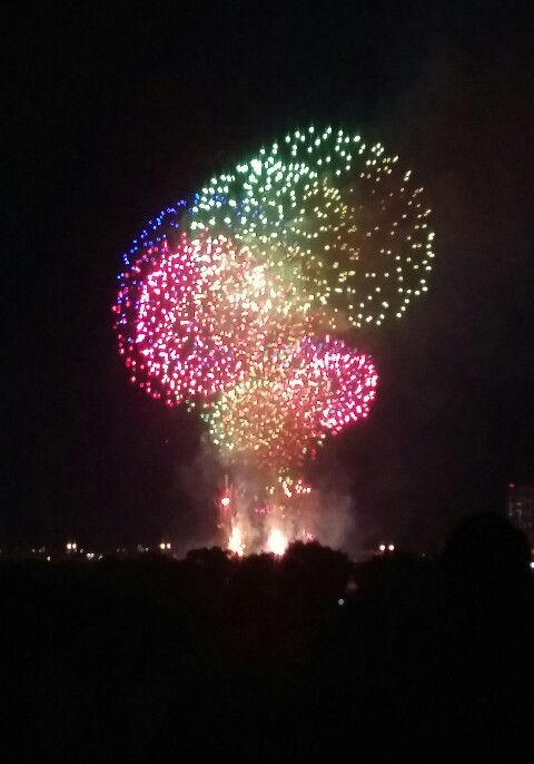 【花火】週末は足立区花火でした!