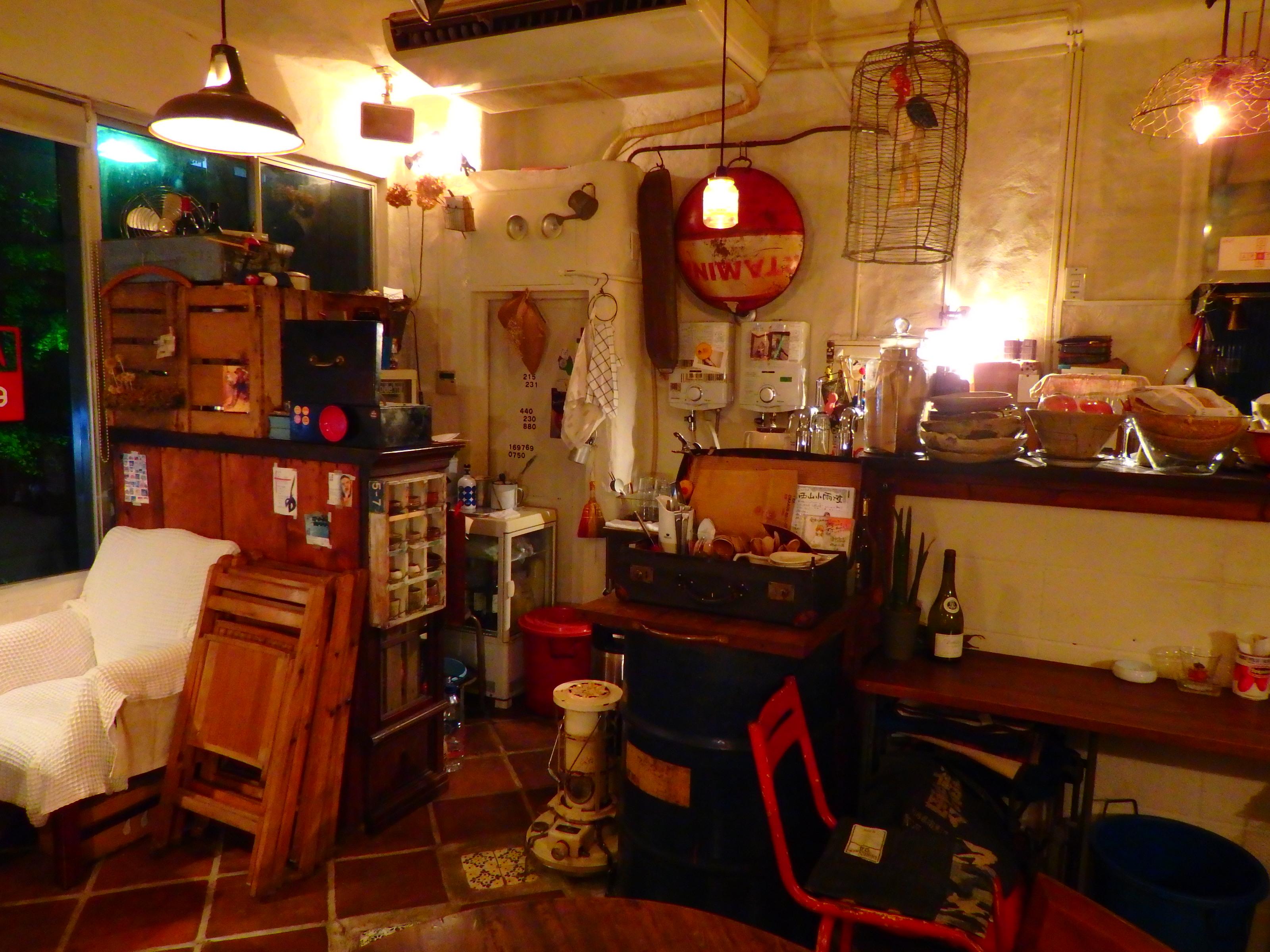 【Cafe*Vol.1】大町にある夜カフェへ