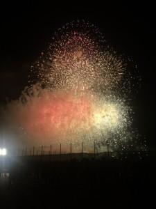 【花火】ぷらっと花火大会に行ってみた!多摩川花火大会