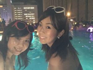 大人の真夏の夜遊び!ナイトプールで涼んじゃおう!(品川プリンスホテル)
