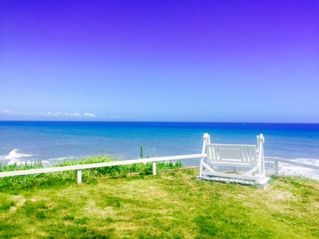 【アウトドア】海と空しか見えない絶景ロケーション!!崖の上のカフェでBBQ☆