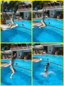 ニューオータニのプールでゆったり夏休み【アウトドア】