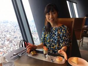 日本一のフレンチレストラン☆Sky Restaurant634