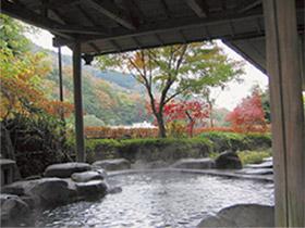 自然の中の露天風呂でゆったり 「こごめの湯」