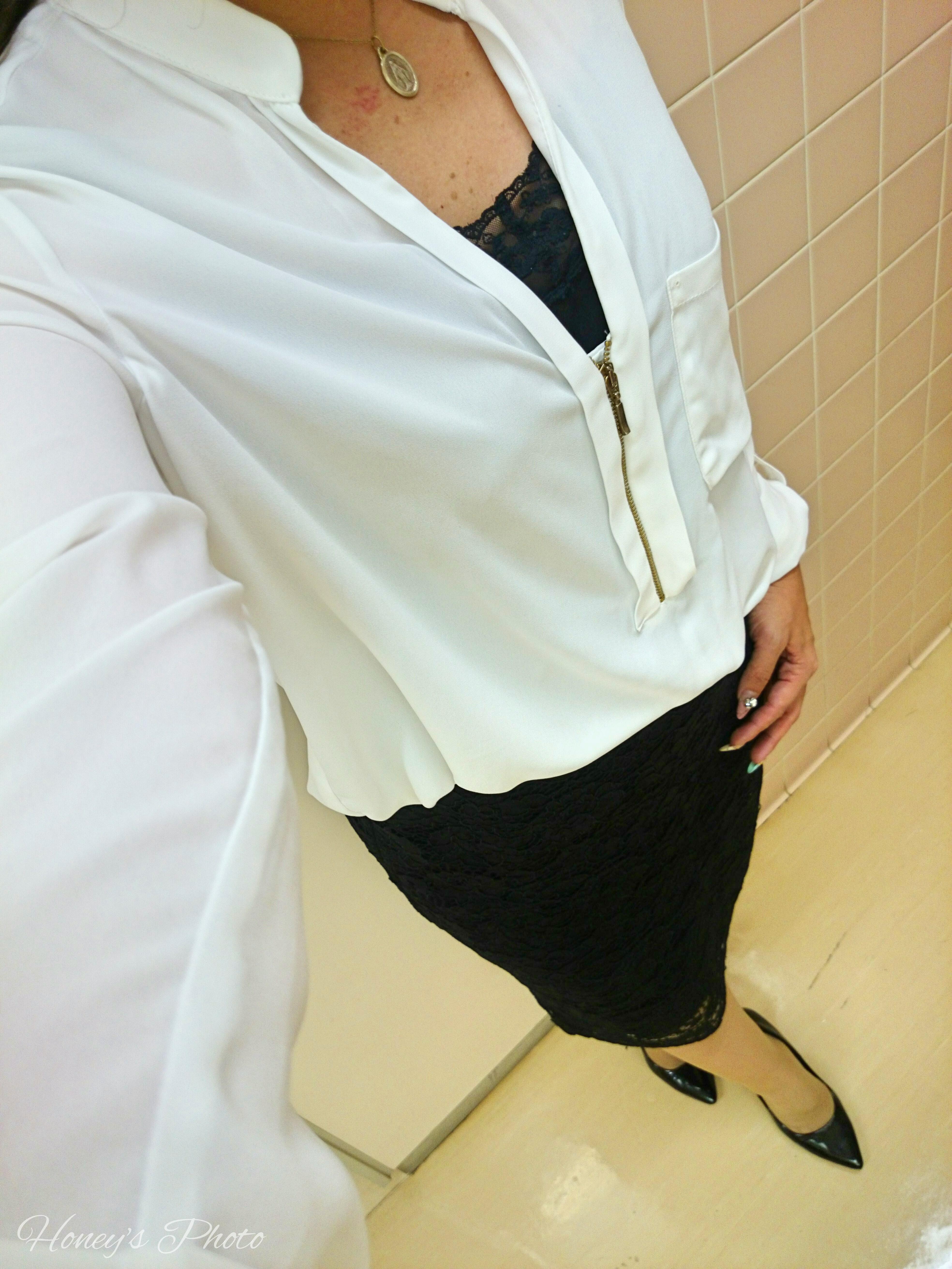 ☆GUのレースタイトスカートで綺麗なお姉さんを目指す☆