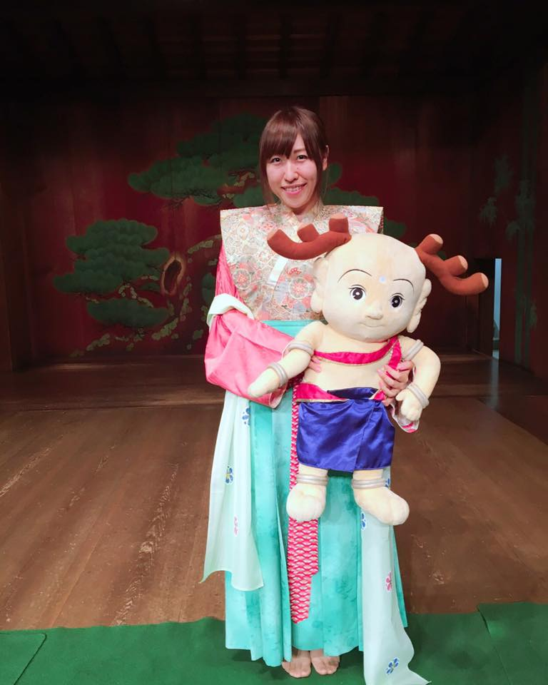 なら記紀・万葉ヤマトナデシコ塾に参加しました♪