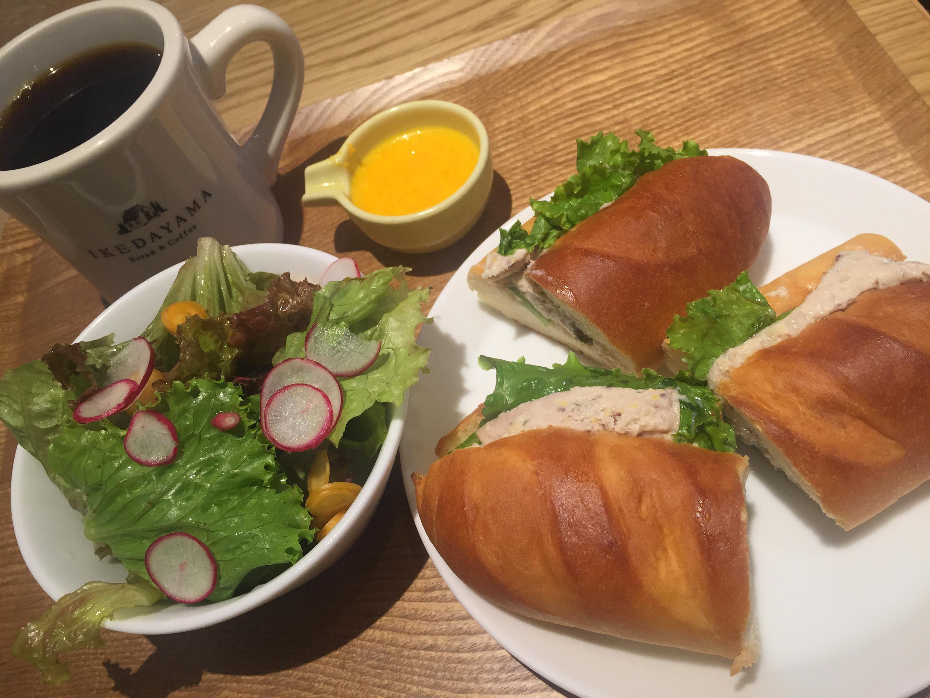 焼き立てパン&自家焙煎コーヒーの至福の池田山ランチ【コーヒー】