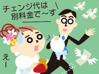 今回のテーマは「結婚式のお金」