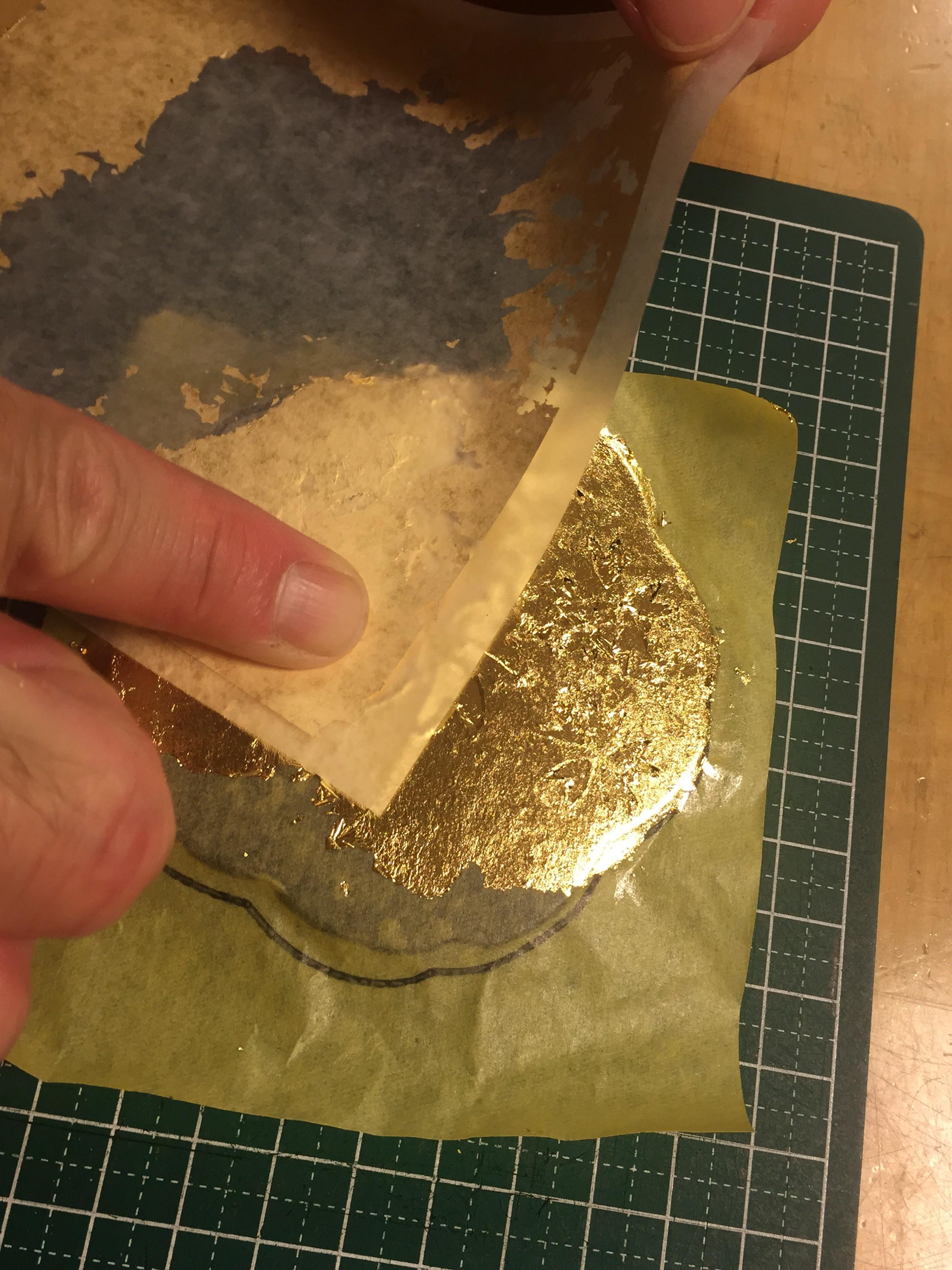 金箔のきらめきにうっとり♪金沢で金箔貼り体験してきました