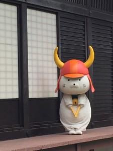 滋賀県 ひこにゃんとご対面♪♪