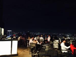 47階で、素敵な夜景を見ながらディナー・ウェディング・ビアガーデン!