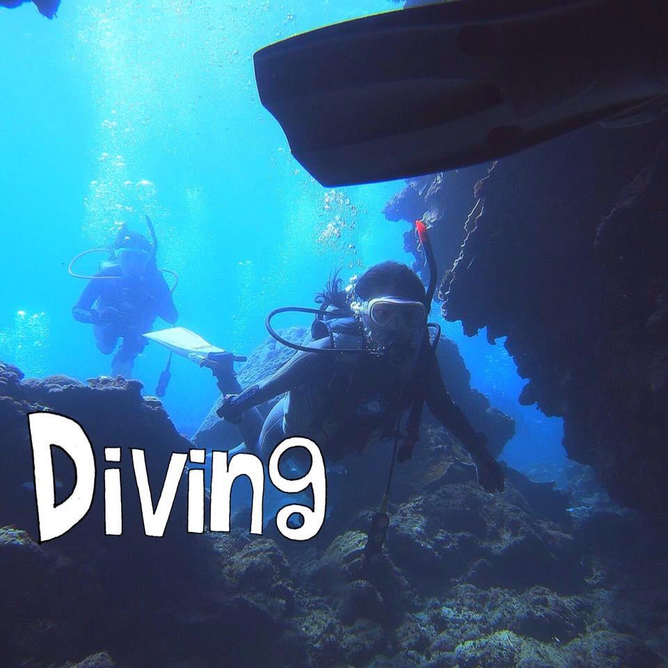 奄美②ダイビングで海の世界に魅せられて♥