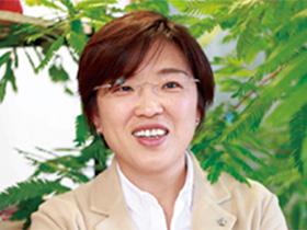 Q-GARDEN 代表取締役 小島理恵さん(45歳)
