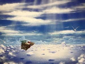 サンタが世界と季節を飛び回る!