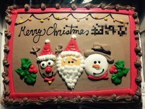 クリスマスケーキ&プレゼント☆Merry Christmas