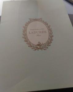 【銀座】ラデュレのアフタヌーンティに行ってきました♪