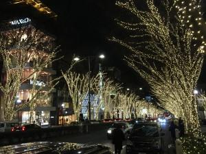 都内のオススメのクリスマスツリーめぐり