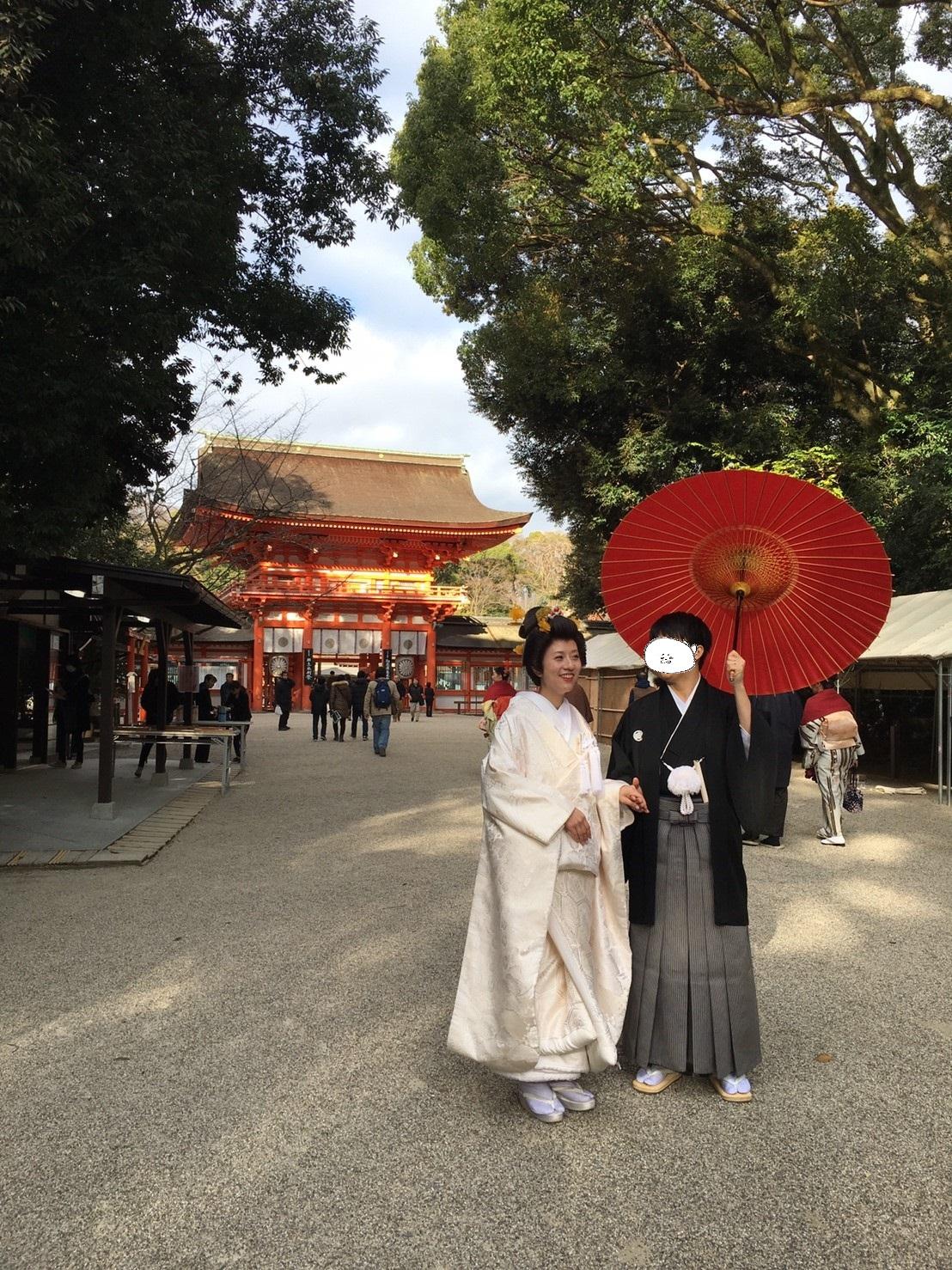京都・下鴨神社で挙式をあげました。(12月に結婚式をすると編)