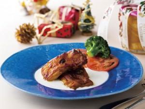 タンドリーチキンと彩り野菜のライスサラダ