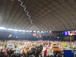 東京ドームでふるさと祭り東京2017 全国ご当地グルメを食べ歩き天国♪