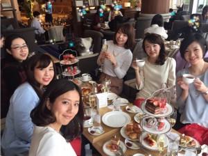 横浜メンバー集合♡インターコンチネンタルホテルでアフタヌーンティー