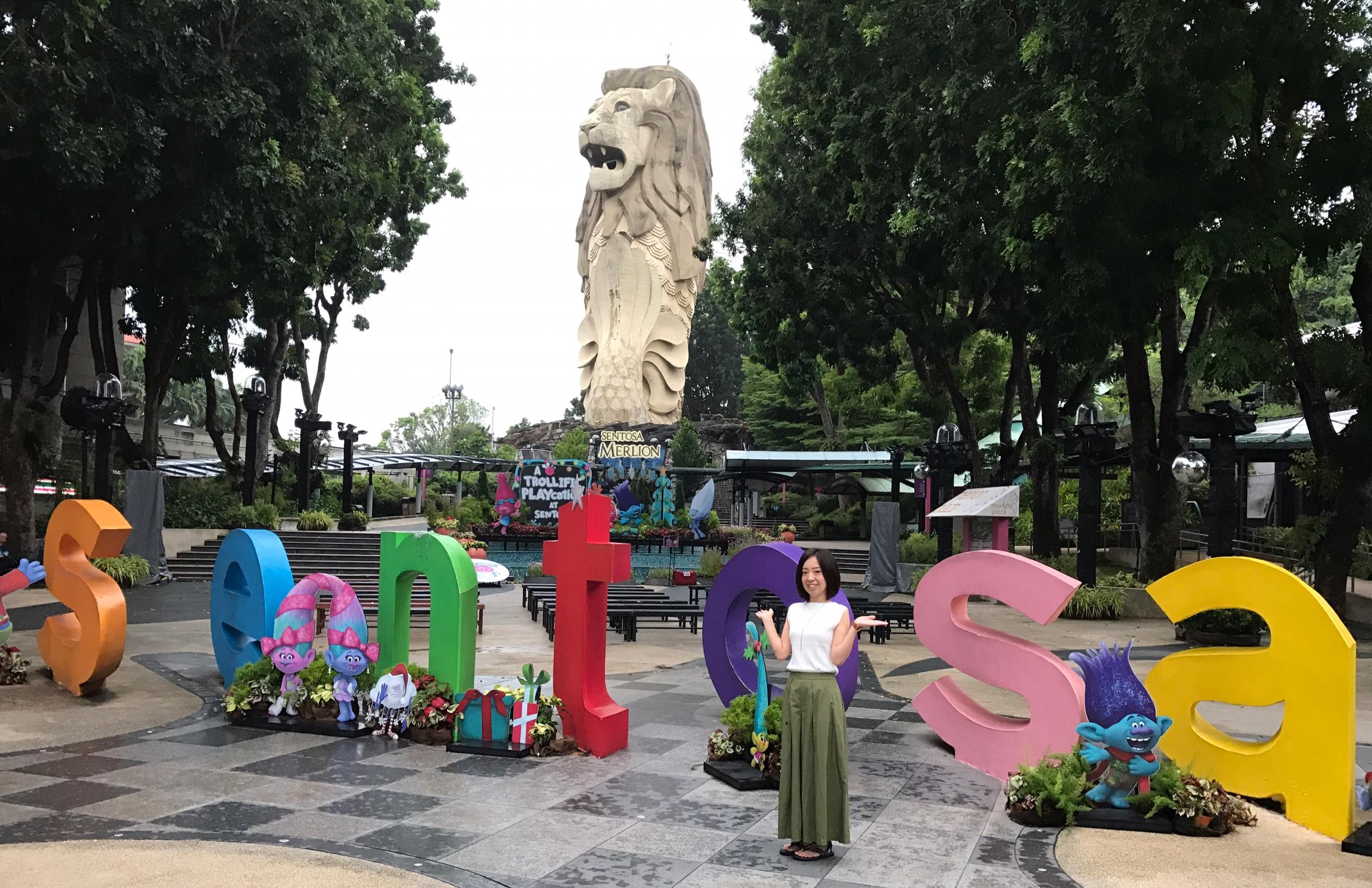 シンガポール王道観光【年末年始の過ごし方】