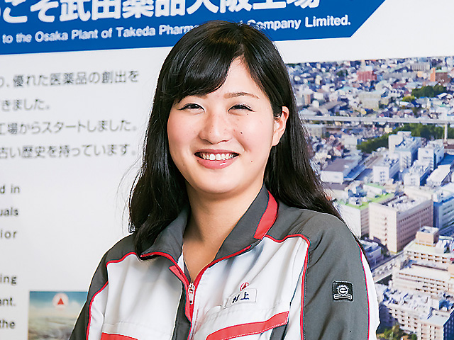 【vol.5】武田薬品工業 村上 妃音さん
