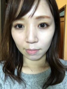 【美白】半顔塗って比較☆3CE 韓国コスメ 牛乳クリーム★