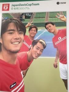 【デビスカップ2017】日本VSフランス 有明コロシアムでテニス観戦!