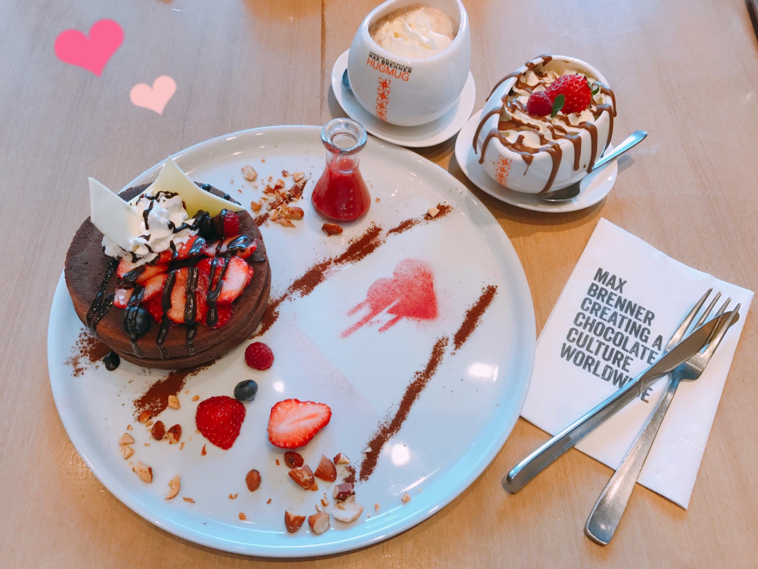 マックスブレナーのバレンタインメニュー
