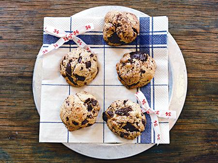 休日腕まくりメニュー~チョコスパイスクッキー