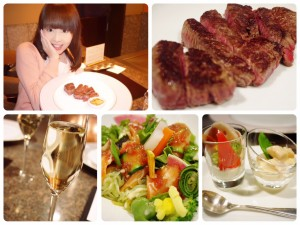 心地よいおもてなし!美食ホテルの名店で鉄板焼き♡目の前で美味しいお肉を