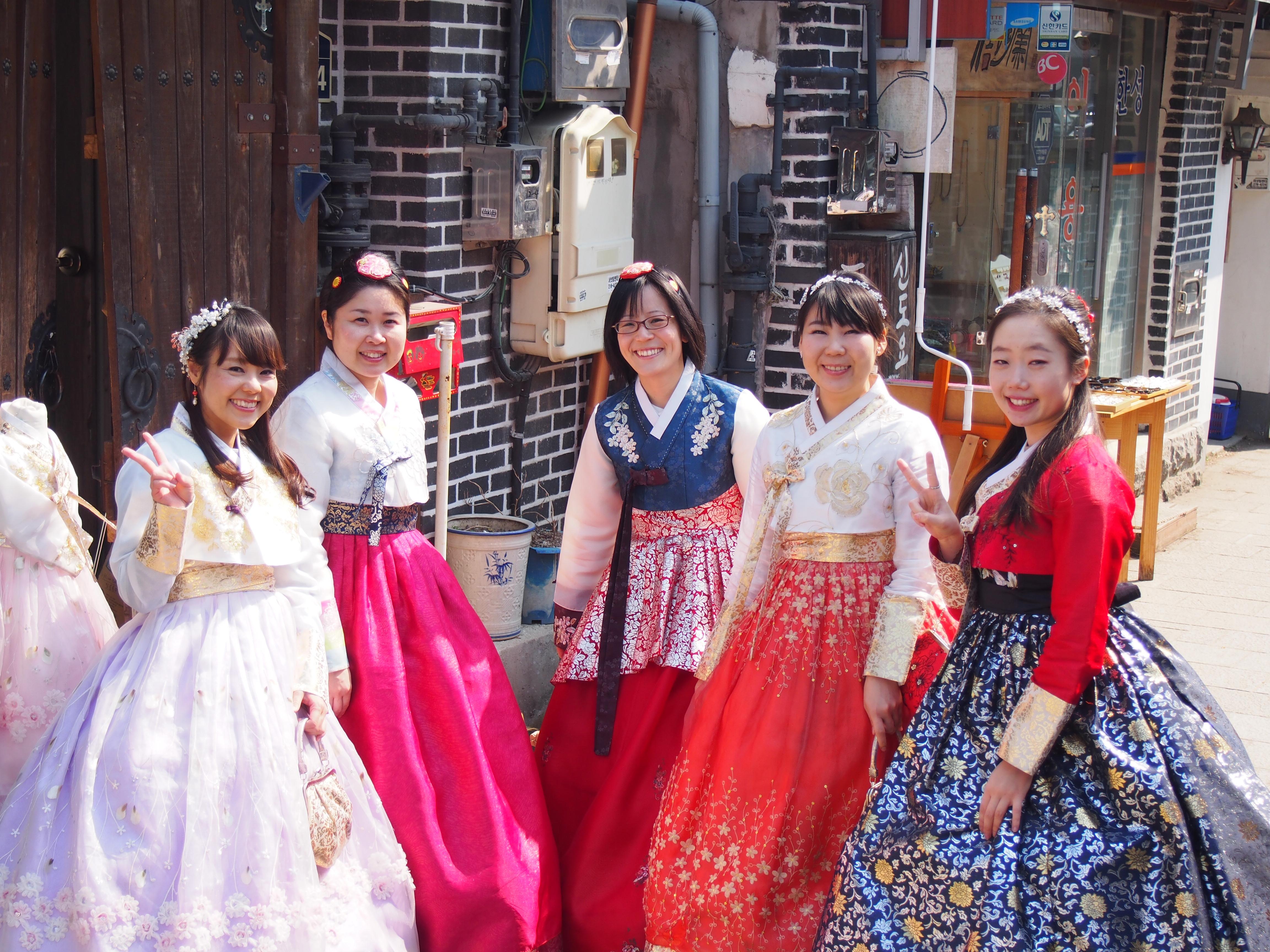 【韓国旅行②】全州韓屋村で、韓服を着て散策してみよう!