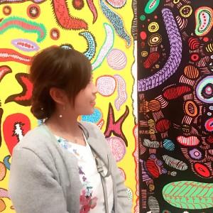 【新国立美術館】草間彌生展がオシャレで楽しくて、素敵!