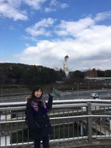 極寒の中激熱のスタジアムへ!@大阪