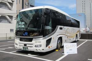 西日本ジェイアールバスの、新型夜行高速バスの試乗会に行ってきました♪