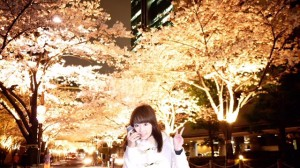 【お花見レポ⑤2017】六本木アークヒルズの桜✿桜トンネルに感激♡